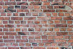 Doorstane Bevlekte Oude Bakstenen Muur Stock Foto - Beeld: 16732980