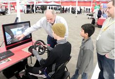 Distracted driving is never okay. ICBC came to Chilliwack with a distracted driving simulator. Heres what happened http://bit.ly/2gz0Q76  No matter how much driving experience you have or how skilled you are at multi-tasking distracted driving is dangerous and should never be done.