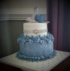 Demin and diamonds  Not my cake