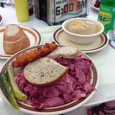 Stands up next to any corned beef on the planet. The Best Order: 1/2 Corned Beef on rye with matzoh ball soup and a potato pancake (add applesauce) -@Yogurteur