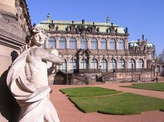 Zwinger Palace, Dresden, Germany. Photo Christoph Münch.