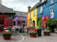"""Kinsale, Ireland. We were told it was the """"gourmet capital of Ireland, if not Europe"""" and I must admit, we had an incredible meal there."""