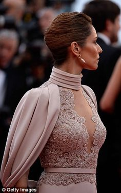 Cheryl Fernandez-Versini cuts a glamorous figure at Cannes premiere #dailymail