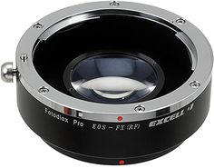 Fotodiox Pro Excell Lens Mount Adapter with Focal Reducing Light Gathering Optics, Canon EOS Lens to Fujifilm X Mirrorless Camera Canon Eos, Photo Accessories, Fujifilm, Nikon, Lens, Camera
