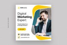 Social Media Poster, Social Media Branding, Social Media Banner, Social Media Design, Marketing Poster, Marketing Digital, Cv Simple, Graphic Design Flyer, Marca Personal