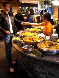 Comida india en Londres