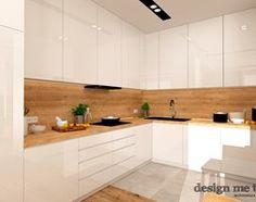 GRAZIOSO КВАРТИРЫ - Средняя открытая кухня в U-образный приложения, современный стиль - изображение дизайн мне тоже