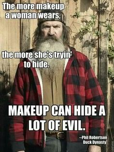 I Don't really care about the quote...I just wanna know why it's on the picture of an old homeless guy...?