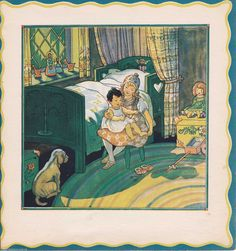 Baby's Nursery Counting Toes - Berta & Elmer Hader Children's ART Color Print | eBay