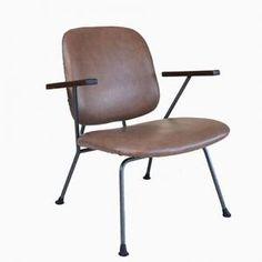 Vintage Armchair by Willem Hendrik Gispen for Kembo, 1950s