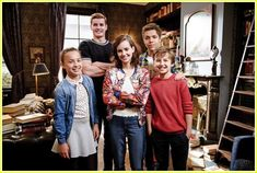 'Hunter Street' Exclusive - Watch A Clip From the New Nickelodeon Mystery Show! : Photo Hunter Street is about the become your favorite new show - and we have an exclusive clip to share from the new Nickelodeon series! Chesapeake Shores, Hunter Street, Mystery Show, Nickelodeon Shows, Series Premiere, Taylor S, New Shows, Favorite Tv Shows, Actors & Actresses