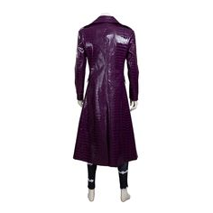 Men's Suicide Squad Joker Costume Deluxe Outfit Halloween Cosplay Costume for Adult Custom Made high quality MANLUYUNXIAO. Order the joker cosplay costume directly from the original factory. Joker Cosplay Costume, Halloween Cosplay, Halloween Outfits, Halloween Costumes, Purple Leather Jacket, Purple Jacket, Pu Leather, Movie Costumes, Adult Costumes