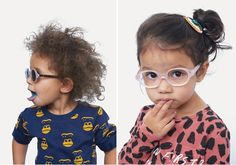 Gafas fashion para niños