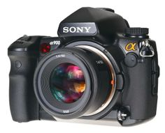Sony A900 with 50mm F/1.4 lens
