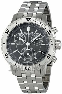 Tissot PRS 200 Chronograph Black Dial Quartz Sport Mens Watch T0674171105100 Tissot. $385.00