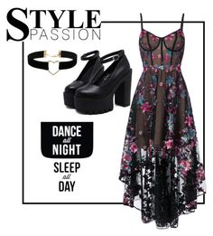 """Untitled #69"" by maia-sandu on Polyvore featuring Notte by Marchesa, Native State and Miss Selfridge"