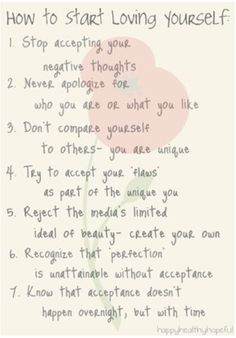 loving yourself quotes - Google Search