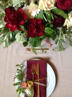 Sneak peek of a DTLA Ace Hotel wedding. Flowers by Twig & Twine.
