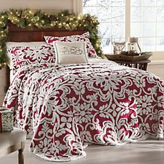 Holiday Chenille Bedspread