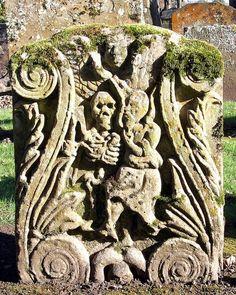 Auld Alloway Kirk (Church) Gravestone.