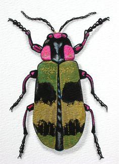 ...beetle art print