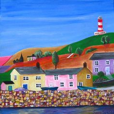 Holiday Home www.arasartwork.blogspot.fr #holiday #home #Cornwall #lighthouse