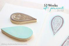 52 Weeks of Print: 21/52 by Studio Waterstone