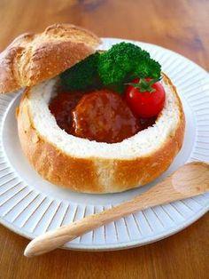煮込みハンバーグポットパン♪クリスマスパーティーに作りたい簡単おもてなしレシピ!お子様も女子も大喜び|レシピブログ