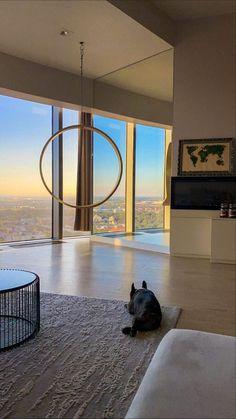 Dream House Interior, Dream Home Design, My Dream Home, Home Interior Design, House Design, Apartment View, Dream Apartment, City Aesthetic, Aesthetic Room Decor
