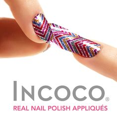 The Happy Sloths: Incoco Nail Strips in \