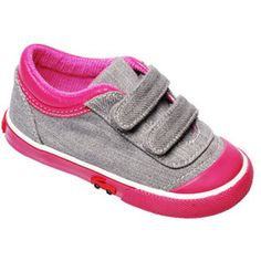 My little love has had these in multiple sizes!  I keep going back to them -- so cute, flexible and extremely well made!  See Kai Run Sneaker Rayne Gray