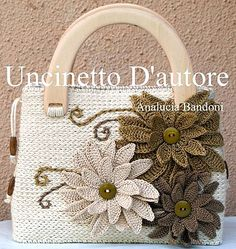 Вязаные сумки: богатство фантазии дизайнеров - Ярмарка Мастеров - ручная работа, handmade