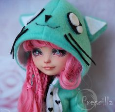 Ever after Monster high Doll Cupid OOAK | Flickr - Photo Sharing!