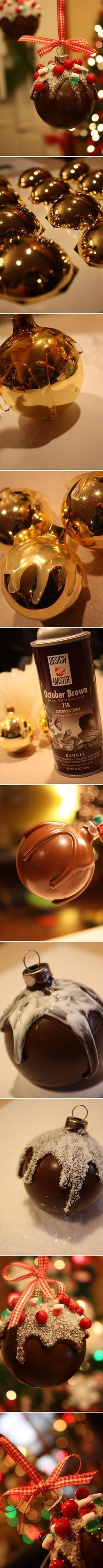 **1**RESTAURANT 2014...Chocolate Candy Ornament