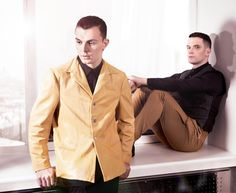 HURTS - Theo and Adam :)