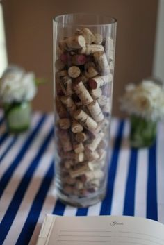 I love this look... now if I can just remember to save my corks.
