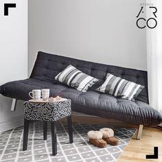 Studio Ar.Co - #decor #decoracao #design #inspiration #inspiracao #livingroom #grey #white #greyinspiration #comfy
