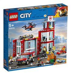 Find LEGO City Fire Station - 60215 at The Entertainer. Shop the full LEGO City range. Porsche 911 Rsr, Jet Ski, Drones, Lego City Fire Station, Station Fire, Lego Station, Lego Dimensions, Batman Film, Figurine Lego