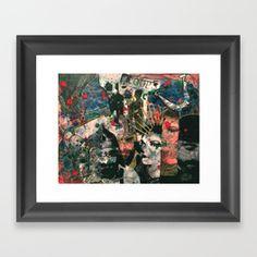 Hidden Pieces Framed Art Print