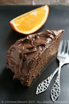 Nigella Lawson's incredibly decadent yet gluten-free spiced orange chocolate cake - it's even dairy-free if you leave off the icing!