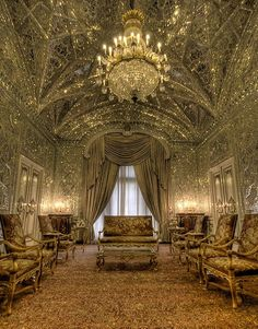 Shah's palace , Tehran Iran Photo : By LilStoneBkk