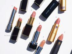 The Beauty Look Book: Color Focus: Nude Pink Lipsticks