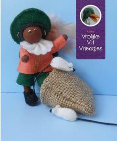 Muizen Piet Sewing Patterns, December, Crochet Hats, Santa, Teddy Bear, Seasons, Ornaments, Christmas, Animals