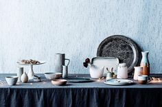 Earthly Beauties tabletop shoot from the December 2014 issue of Australian House & Garden. Styling by Ashley Pratt. Photography by Maree Homer.