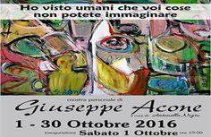 Agropoli, 'Ho visto umani che voi cose non potete immaginare': mostra dell'artista Giuseppe Acone Painting, Artist, Art, Painting Art, Paintings, Painted Canvas, Drawings