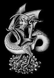 Escher's Dragon.