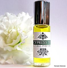 Cypress Isle Natural Perfume Oil by rainwaterbotanicals on Etsy, $10.00