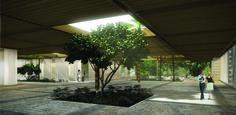 Galeria - Menção Honrosa no Concurso para o Centro Cultural de Eventos e Exposições em Paraty / Filipe Gebrim Doria - 4