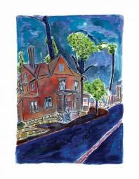 House On Union Street - Medium (2013) by Bob Dylan