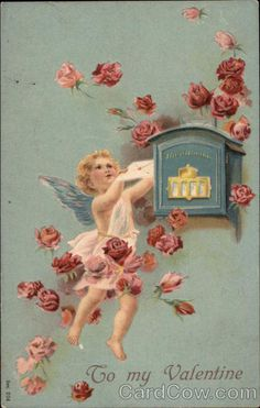 A Cupid Posts a Letter